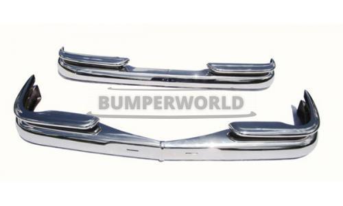 Mercedes W111 W112 Heckflosse Limousine Stoßstangen